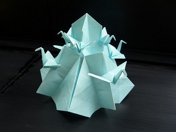 折り紙の 鶴の折り紙の折り方 : tatiorigami.blog.so-net.ne.jp
